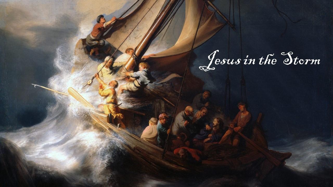 Jesus in the Storm